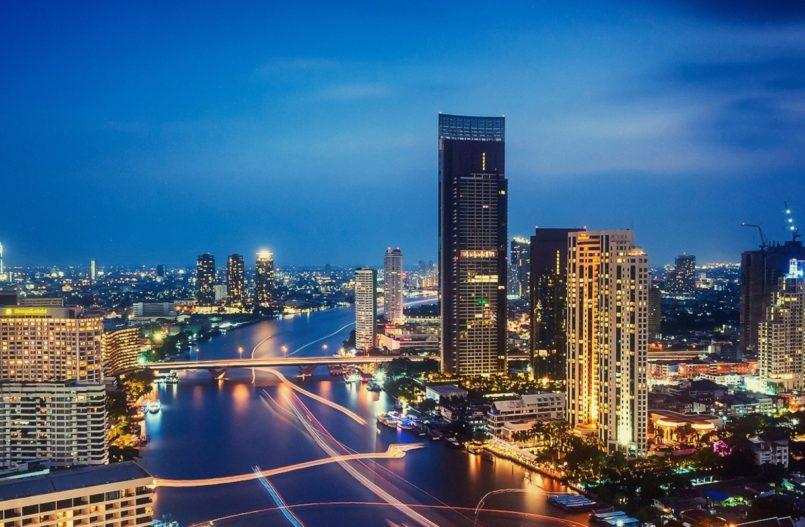 Bangkok er en vakker og travel by