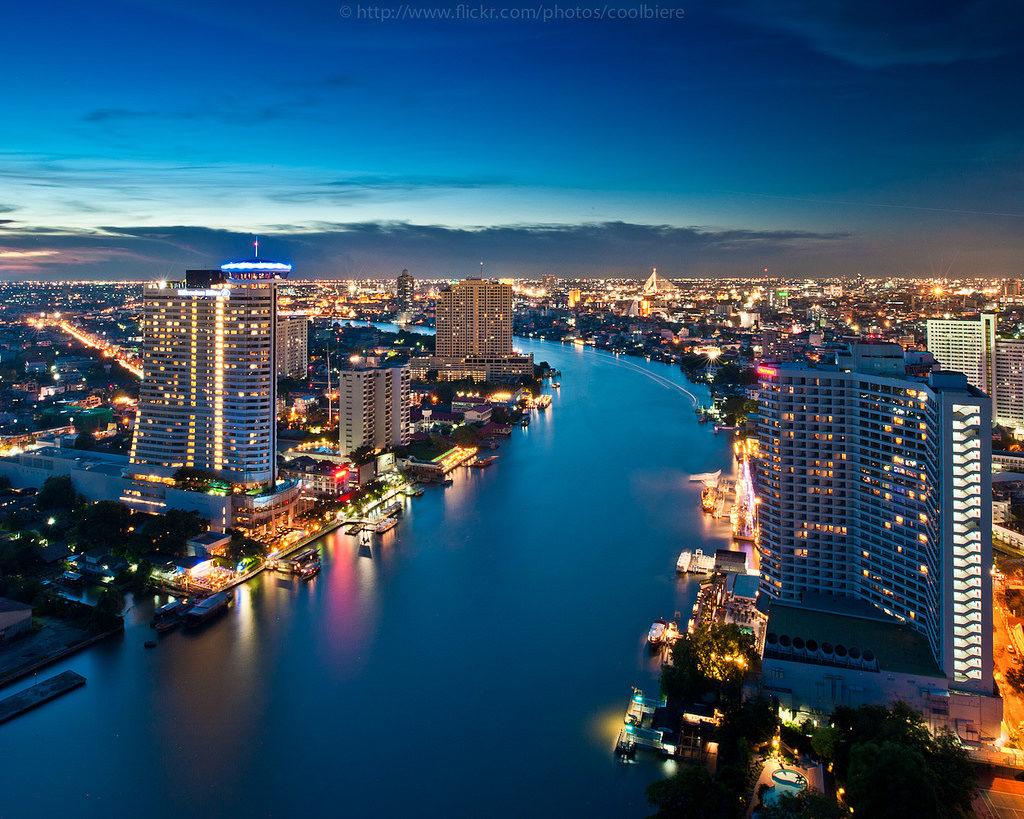 Chao Phraya River i Bangkok