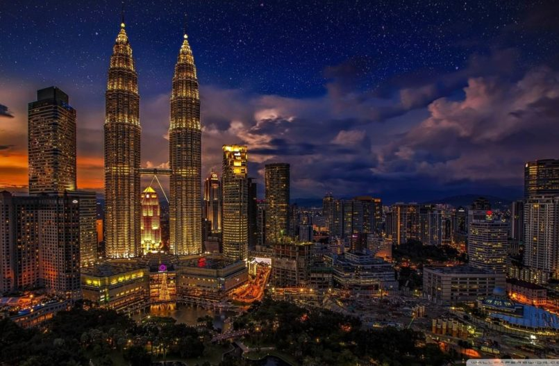 Kuala Lumpur er hovedstaden i Malaysia