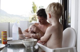 Babymat i Thailand