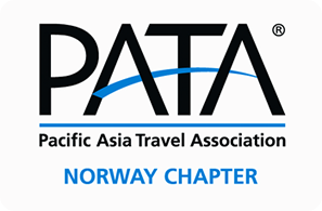AsiaFerie.no er medlem av PATA Norway Chapter