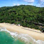 En fantastisk privat strand
