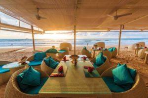 Restaurant på stranden