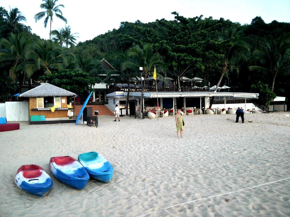 Strandaktiviteter på Andaman White Beach