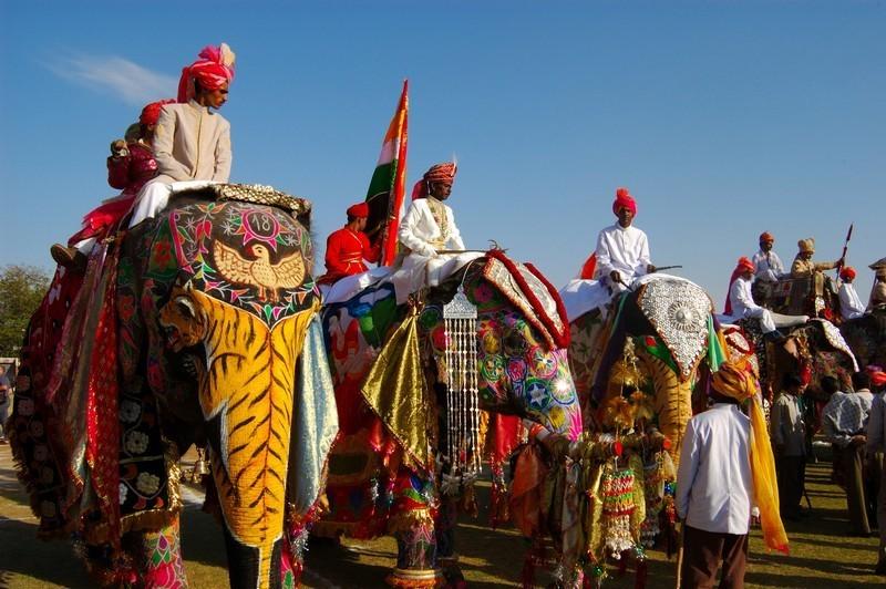 Holi-feiring i Jaipur og Udaipur