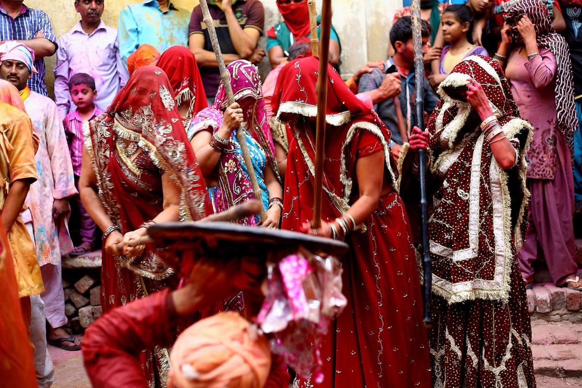 Holi-feiring i Barsana