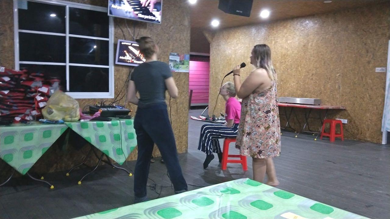 karaoke siste kvelden