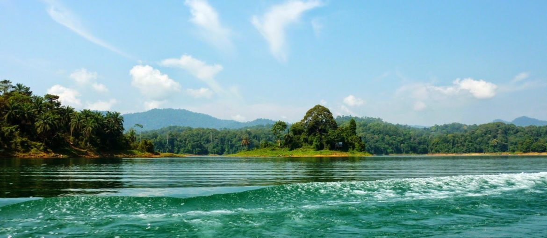 Kenyir Lake, en unik opplevelse