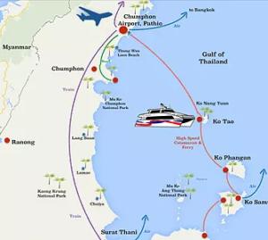 båten til Koh Samui