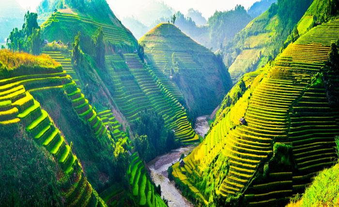 naturskjønn ferie i vietnam